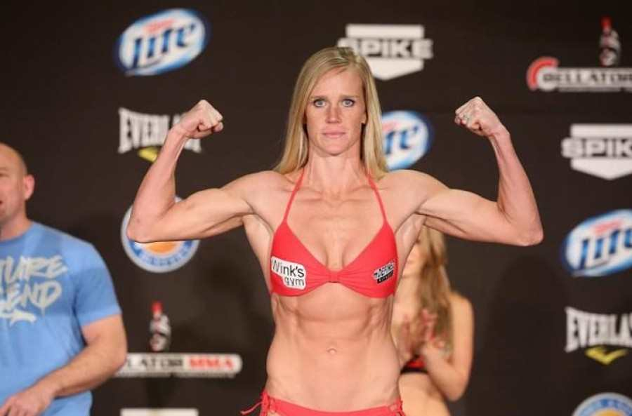 Holly Holm (The Preacher's Daughter)