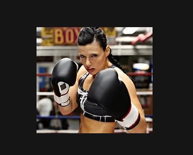 Alicia Napoleon boxing