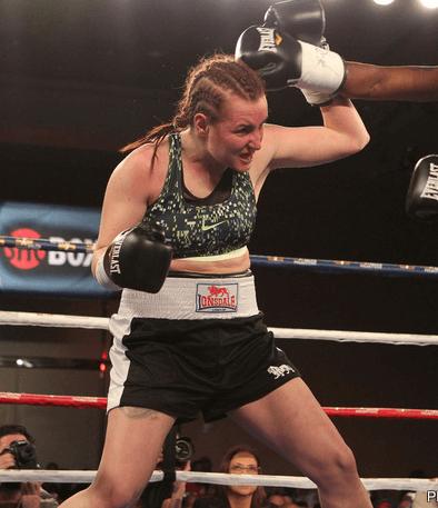 Szilvia Szabados boxing